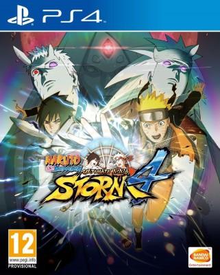 Naruto Shippuden: Ultimate Ninja Storm 4(for PS4) at flipkart