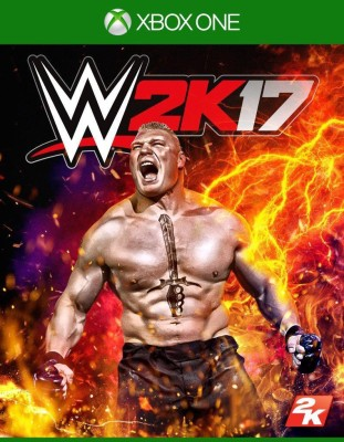 WWE 2K17(for Xbox One) at flipkart