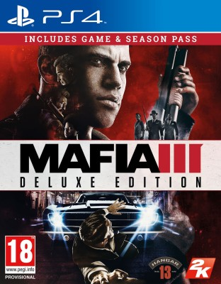 Mafia III (Deluxe Edition)(Game and Season Pass, for PS4) at flipkart