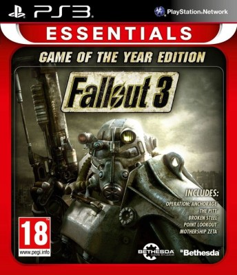 Fallout 3 (Game Of The Year Edition)(for PS3)