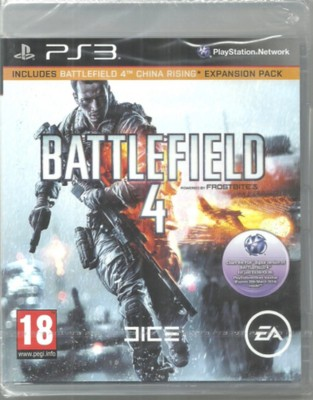Battlefield 4 : Includes Battlefield 4 China Rising Expansion Pack for PS3