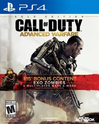 Call of Duty : Advanced Warfare (Gold Edition)(Game and Map Pack, for PS4)