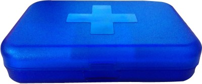 Riddhi Siddhi 7 Days Pill Box(Blue) at flipkart
