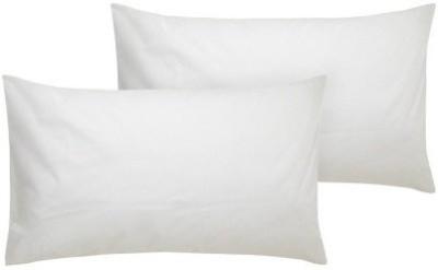 Hywan Solid Bed/Sleeping Pillow Pack of 2(White) at flipkart