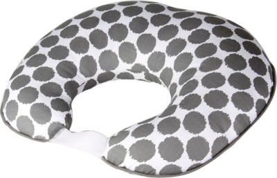 Bacati Geometric Print Feeding/Nursing Pillow Pack of 1(Grey)