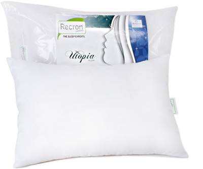 Recron Certified Plain Bed/Sleeping Pillow Pack of 1