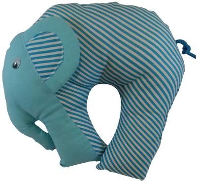 GuzelWorld Geometric Design Bed/Sleeping Pillow Pack of 1(Light Blue)