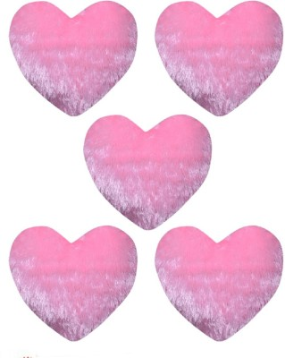 CE Collection Plain Decorative Cushion Pack of 5(Pink)
