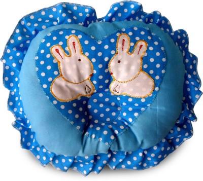 Littly Printed Decorative Cushion(Blue)