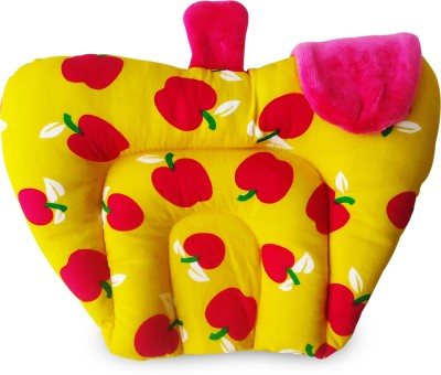 Littly Printed Decorative Cushion Pack of 1(Yellow)