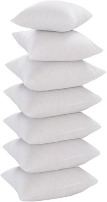 JDX Plain Back Cushion Pack of 7(White)