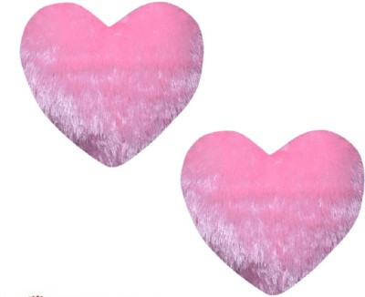 CE Collection Plain Decorative Cushion Pack of 2(Pink)