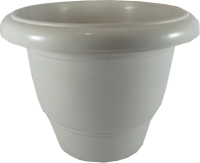 Naina Plant Container(Plastic, External Height - Planter 1 - 26 cm, Planter 2 - 26 cm) at flipkart