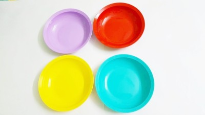 Tupperware Expression flat Dish Set(Pack of 4)  available at flipkart for Rs.550