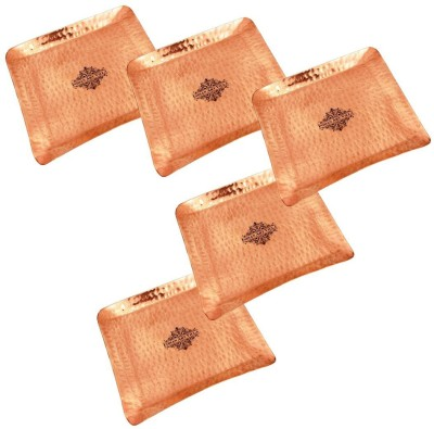 IndianArtVilla Tray Set(Pack of 5) at flipkart