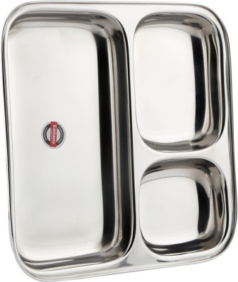 "Embassy 3-in-1 (8.5"" - Size 1) Partition Dinner Sectioned Plate(4 Sectioned Plate)"