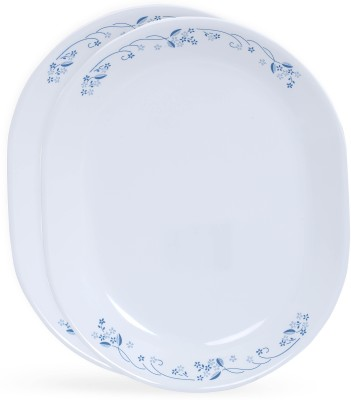 CORELLE Provincial Blue Tray Set(2 Units) at flipkart
