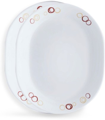 CORELLE 2-CIR-OSP Tray Set(2 Units) at flipkart