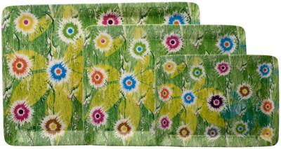 Superware Flower Stamp Tray Set(Pack of 3) at flipkart