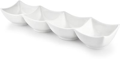 Sivica Porcelain Tray - MOD0477 (White, Pack of 1) Tray at flipkart