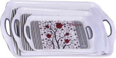 Nayasa Nayasa Tray Tray(Pack of 3) at flipkart