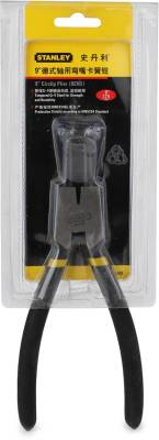 Stanley 84-348-23 9 Inch Bent External Circlip Plier Image