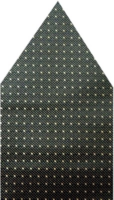 Navaksha Graphic Print Microfibre Pocket Square