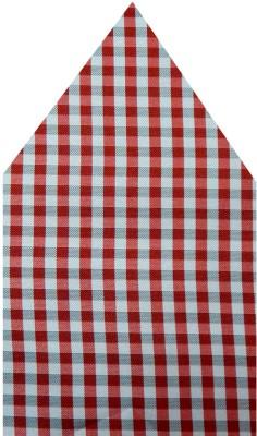Navaksha Checkered Microfibre Pocket Square