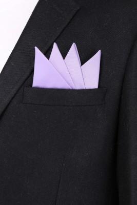 Alvaro Solid Microfibre Pocket Square
