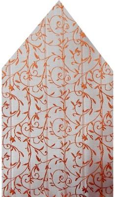 Navaksha Floral Print Microfibre Pocket Square