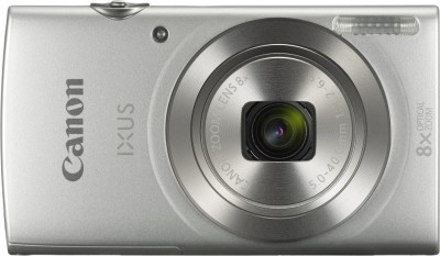 Canon IXUS 185(20 MP, 8x Optical Zoom, 8x Digital Zoom, Silver)