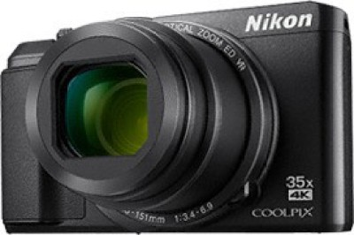 Nikon A900 Point and Shoot Camera(20 MP, 35x Optical Zoom, 4x Digital Zoom, Black)  available at flipkart for Rs.22950