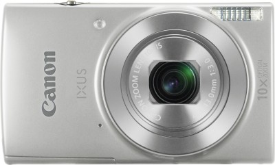 Canon IXUS 190(20 MP, 10x Optical Zoom, 10x Digital Zoom, Silver)