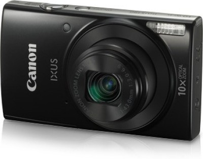 Canon IXUS 190(20 MP, 10x Optical Zoom, 10x Digital Zoom, Black)