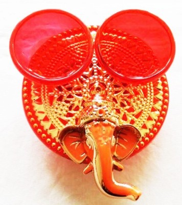 Ira Creations Plastic Pooja & Thali Set(Red)  available at flipkart for Rs.149