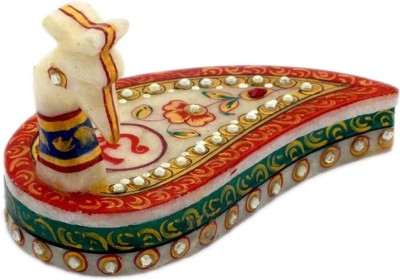 Advance Hotline Handicrafts Handmade Products Marble Pooja & Thali Set(1 Pieces, Multicolor)  available at flipkart for Rs.398