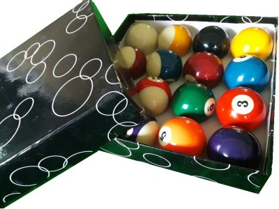 21 Balls China Black Pool ball Billiard Ball(Pack of 16, Multicolor)