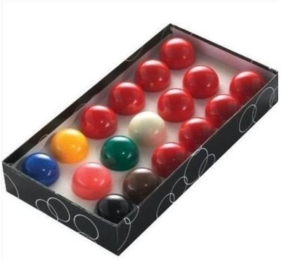 21 Balls CHINA SNOOKER BALLS Billiard Ball(Pack of 17, Multicolor)