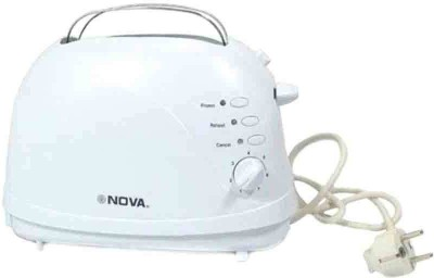 Nova RX-2227T 800 W Pop Up Toaster(White) at flipkart