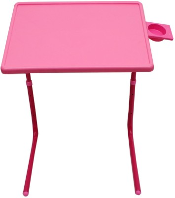 MyTableMate Plastic Portable Laptop Table(Finish Color - Pink)