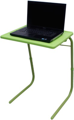 NA Green Plastic Portable Laptop Table(Finish Color - Green)