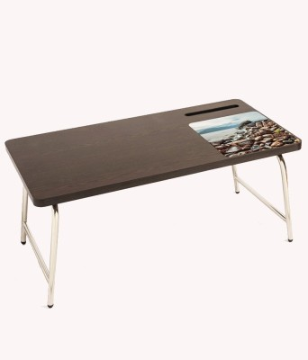 Table Mate II Engineered Wood Portable Laptop Table(Finish Color - brown)