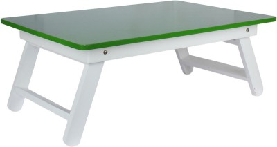 Wood-O-Plast Engineered Wood Portable Laptop Table(Finish Color - Green)