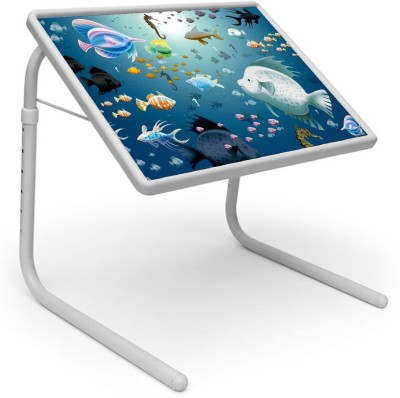 Shopper52 Plastic Portable Laptop Table(Finish Color - Blue)