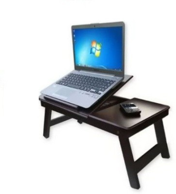 Table Mate II Adjustable Engineered Wood Portable Laptop Table(Finish Color - Brown)