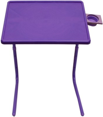 MyTableMate Plastic Portable Laptop Table(Finish Color - Purple)
