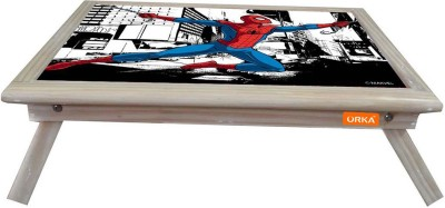 ORKA Amazing Spiderman Digital Printed Engineered Wood Portable Laptop Table(Finish Color - Red Blue)