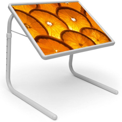 Shopper52 Plastic Portable Laptop Table(Finish Color - Yellow)