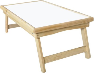 EKTA1 Engineered Wood Portable Laptop Table(Finish Color - NATURAL WOOD)
