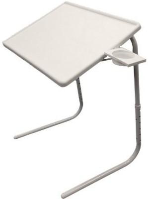Inventure Retail Plastic Portable Laptop Table(Finish Color - White)
